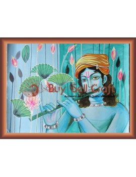 Krishna Playing his Flute 2