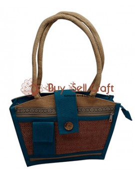 Multicolour Jute Bag