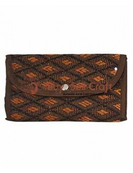 Beautiful Brown Designer Jute Ladies Purse
