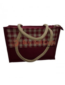 Brown Jute Bag