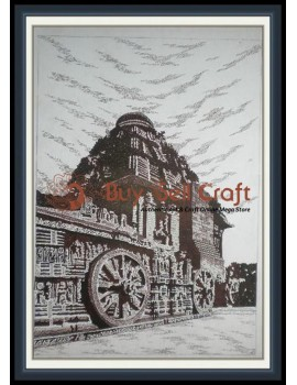 Pen Art 5 (Konark) (20x25)