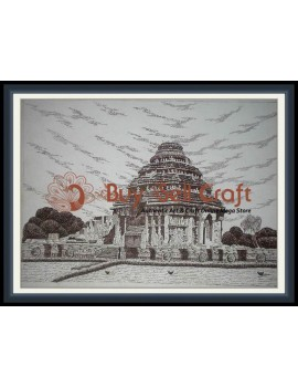 Pen Art 2 (Konark) (20x25)