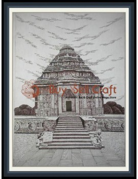 Pen Art 3 (Konark) (20x25)
