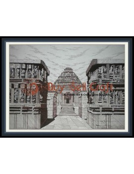 Pen Art 4 (Konark) (20x25)