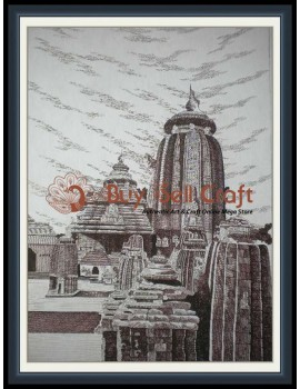 Pen Art 6 (Lingaraj) (20x25)