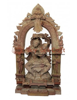 "Setting Radha and Krishna (8"" (inch))"