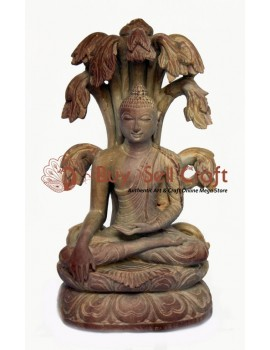 Buddha Under Tree (8 inch)