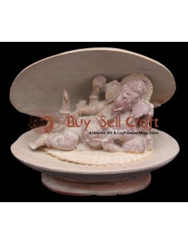 Cell Sleeping Ganesh (8 Inch)