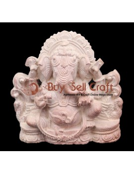 Ganesh With Side Work (5 Inch)